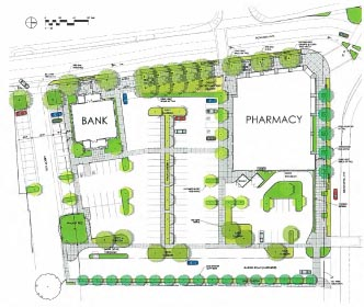 CVS/Chase Site Plan - May 2012