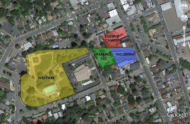 Sebastopol Charter School possible downtown expansion sites