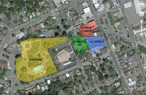 Sebastopol Charter School possible downtown expansion sites