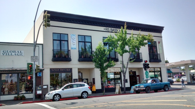 The Basso Building on Main Street generated $118,819.92 per acre in property taxes, a whopping 6.6 times more than Safeway!