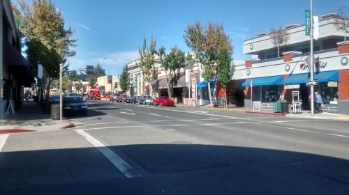 Main Street at Burnett.