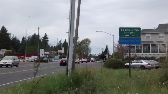 South Entry - SR 116