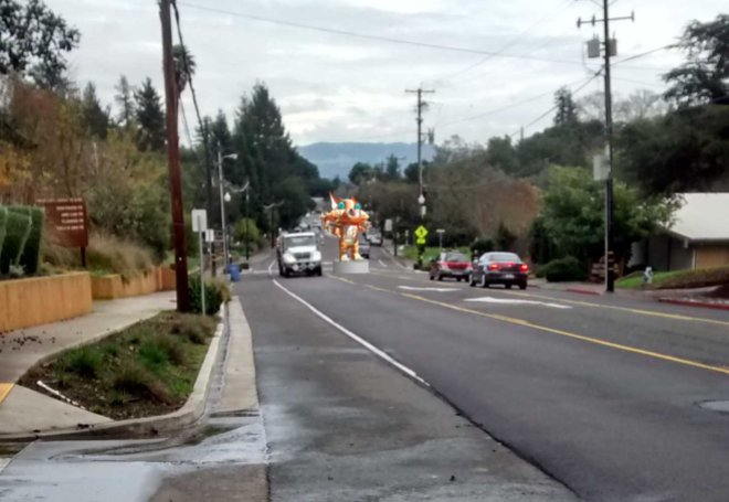 Slow Down Healdsburg Ave
